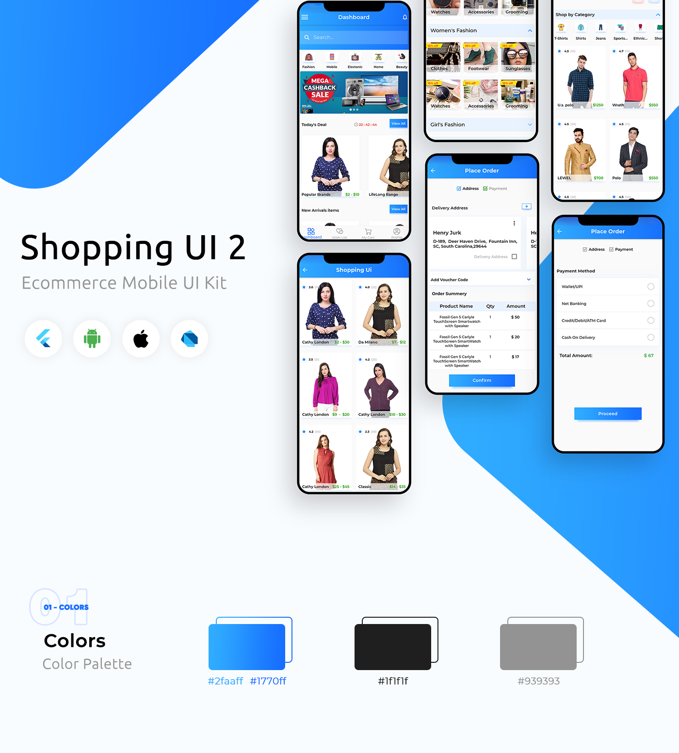 E-Commerce UI Template in Flutter - 7