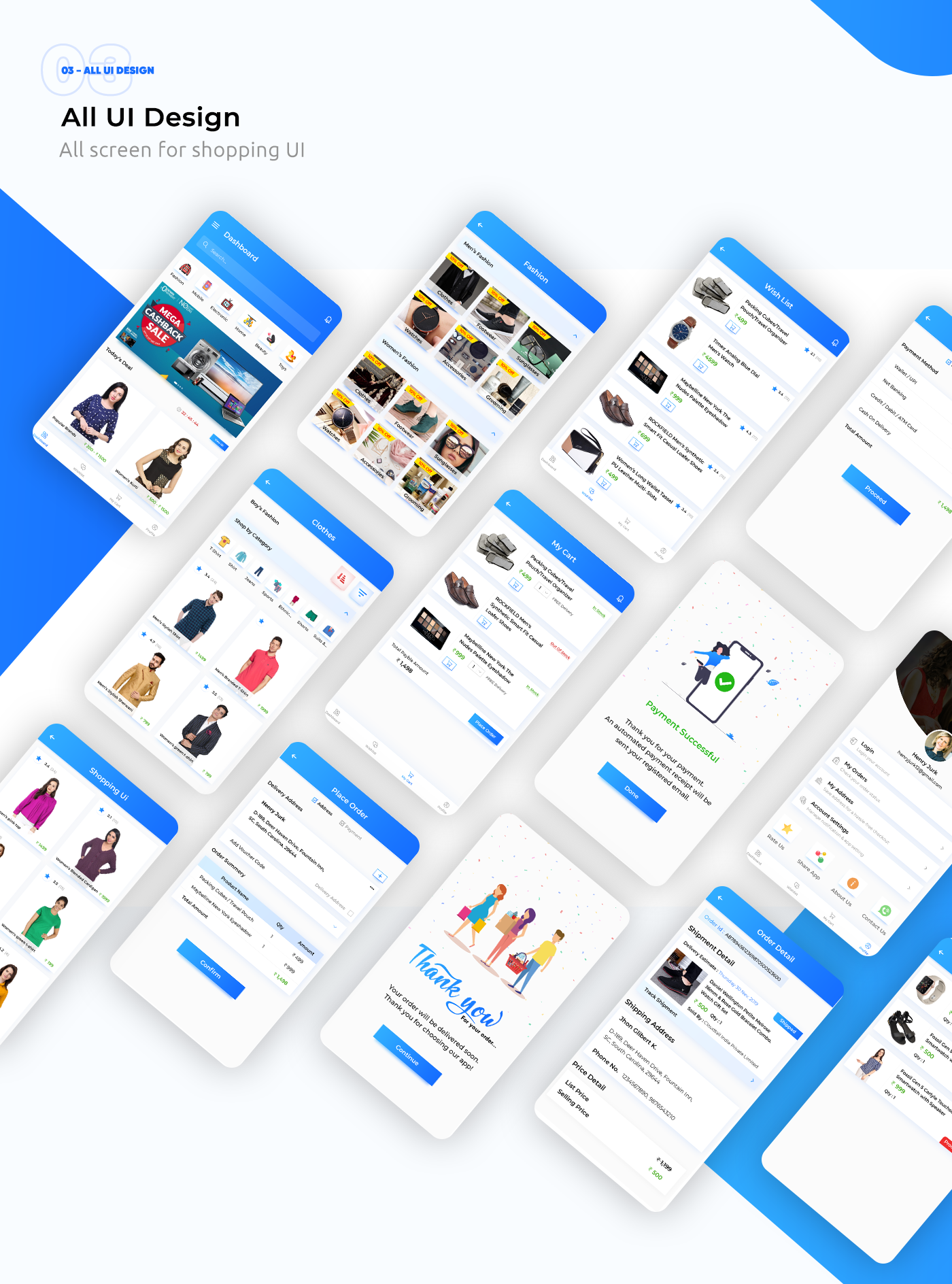E-Commerce UI Template in Flutter - 9