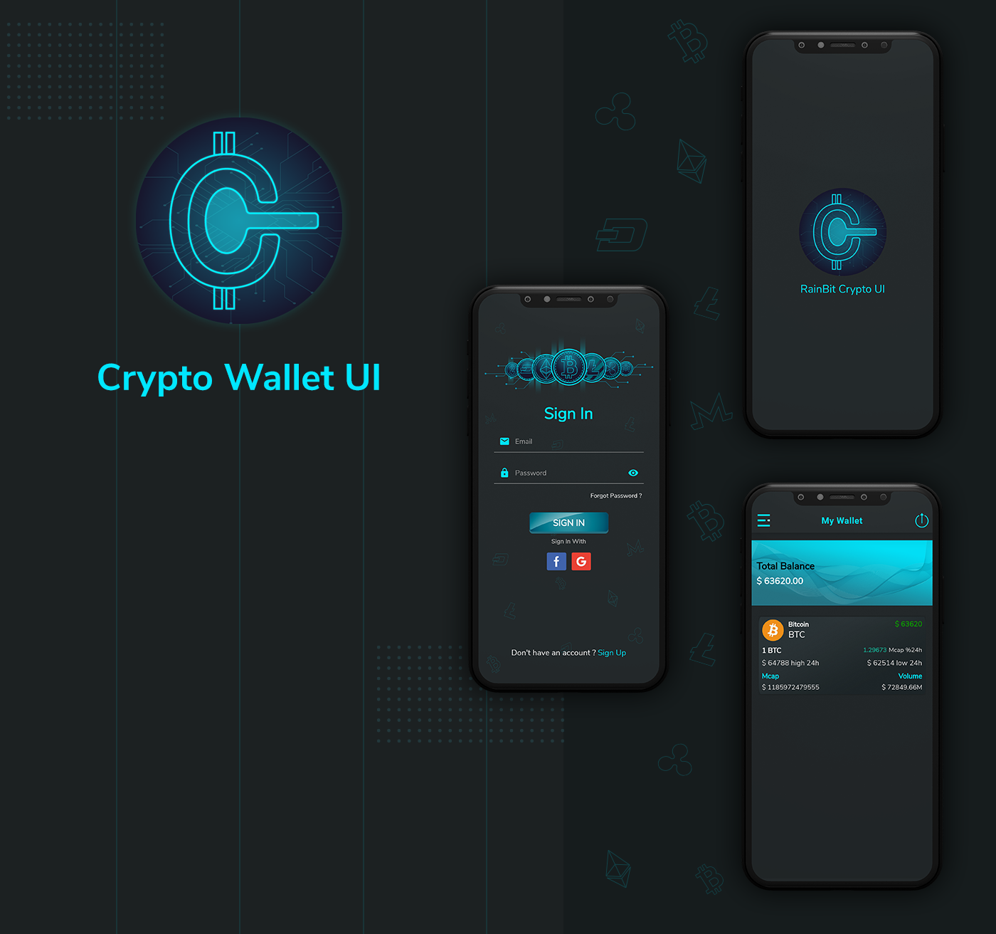 Crypto Wallet UI- Flutter App | Android – iOS - 3