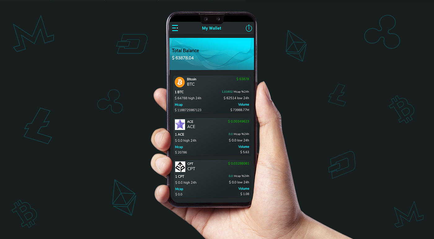 Crypto Wallet UI- Flutter App | Android – iOS - 4