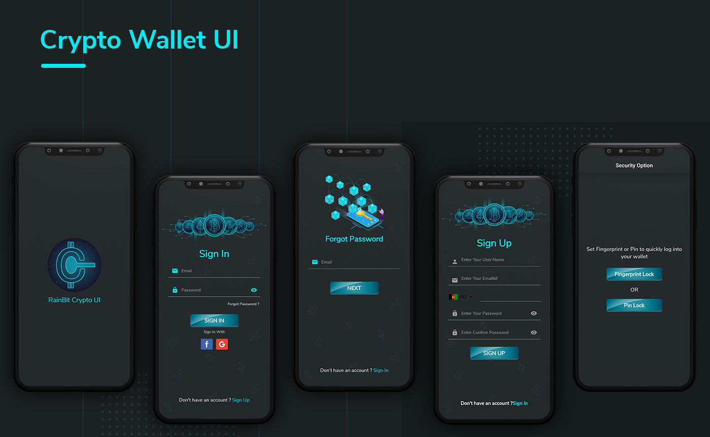 Crypto Wallet UI- Flutter App | Android – iOS - 7